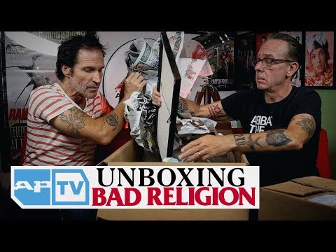 Bad Religion Unboxing: Tours They'd Rather Forget, Interview They Walked Out Of, More    AP