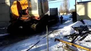 видео Зима на гусеничном ходу