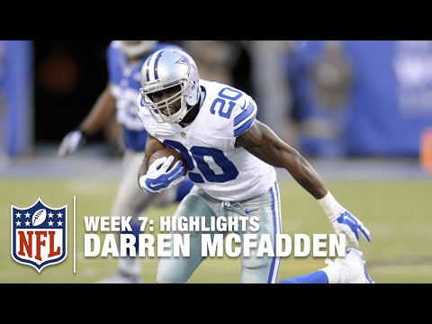 Darren McFadden Highlights (Week 7) | Cowboys vs. Giants | NFL