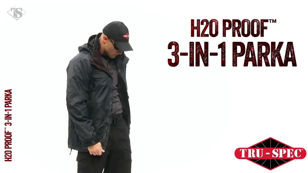 TRU-SPEC® H2O PROOF™ 3-in-1 Parka - YouTube 255a5270d09c