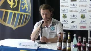 1. FC Saarbrücken - Stuttgarter Kickers| Pressekonferenz nach dem Spiel 32. Spieltag 16/17