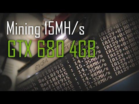 GTX 680 15MH/s ! | How To Mine Ethereum On GTX 680 (4GB)