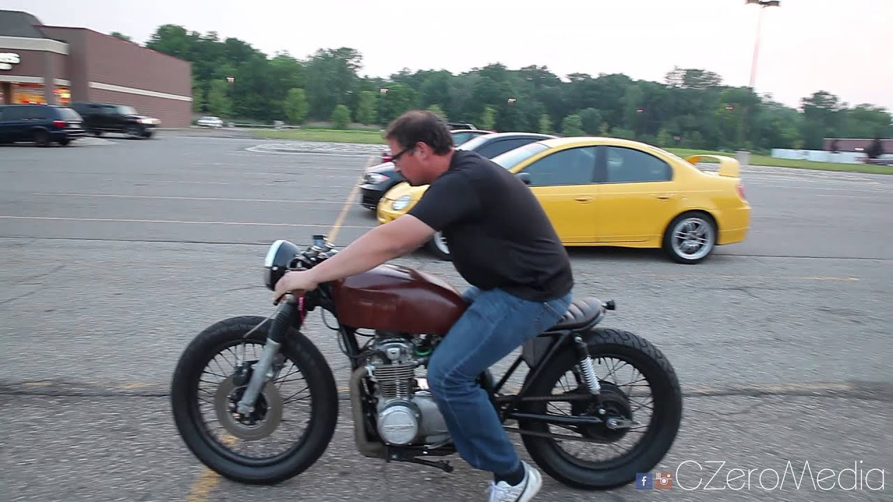 Fabuleux Friends Ride My CB550 Cafe Racer - YouTube VG25