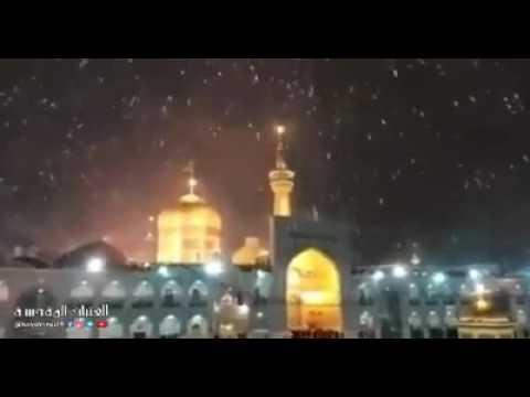 Mashhad snowfall 2017 new