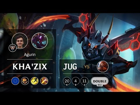 Kha'Zix Jungle vs Gragas - EUW Challenger Patch 9.24