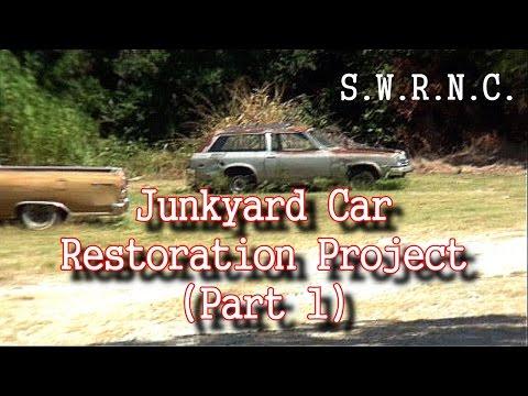 How To Restore A JUNKYARD Car-Part 1-It's a Chevy Vega!