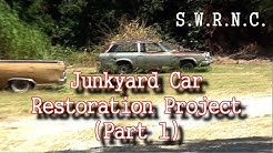 How To Restore A JUNKYARD Car-Part 1-It's a Chevy Vega!