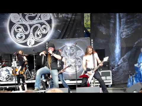 Eluveitie - NEVERLAND live at Snina 2012