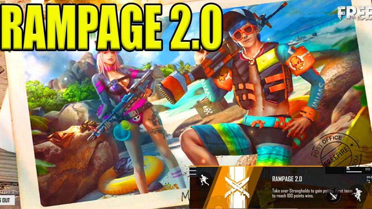 New Fun Mode In Free Fire Tamil Rampage 2 0 Advanced Server