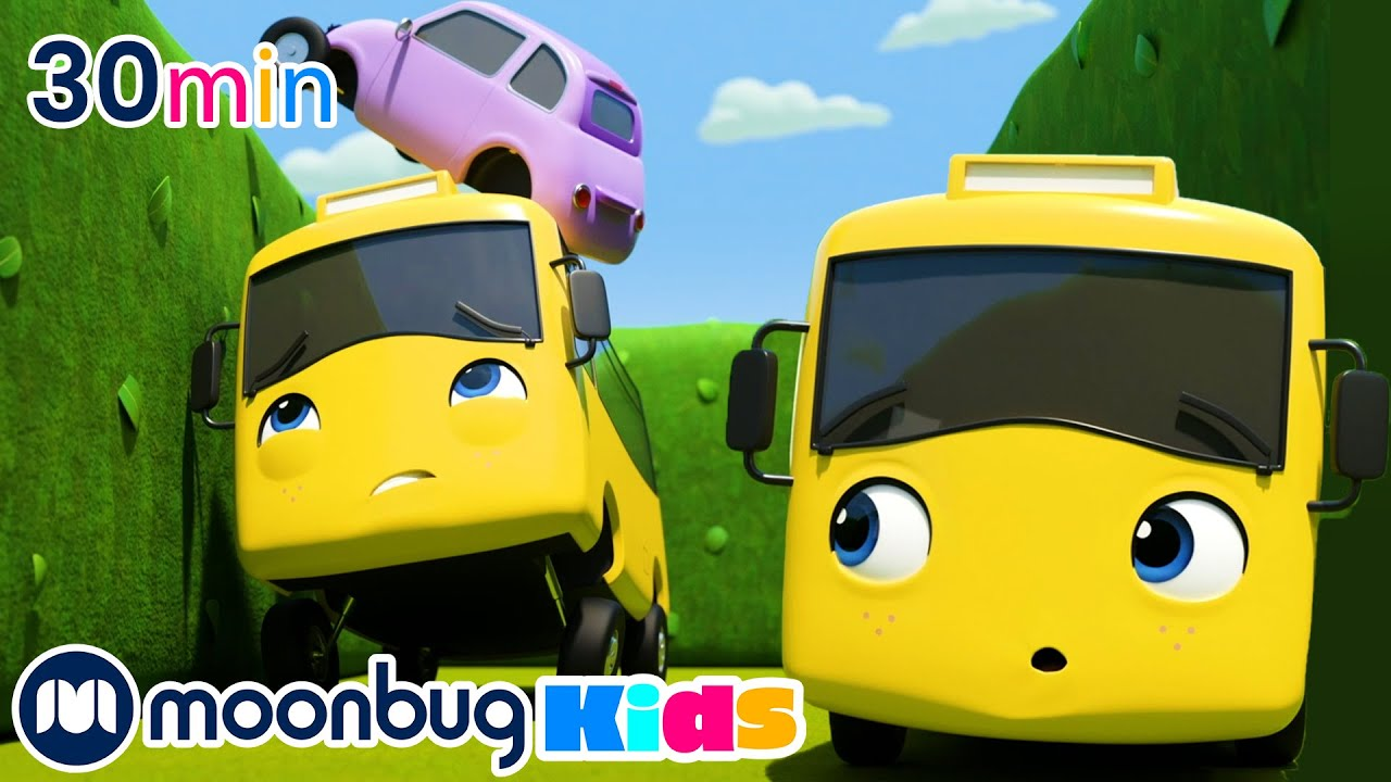 Buster and Scout Get Lost In The Maze!   Moonbug Kids   Cars   Car songs for Kids