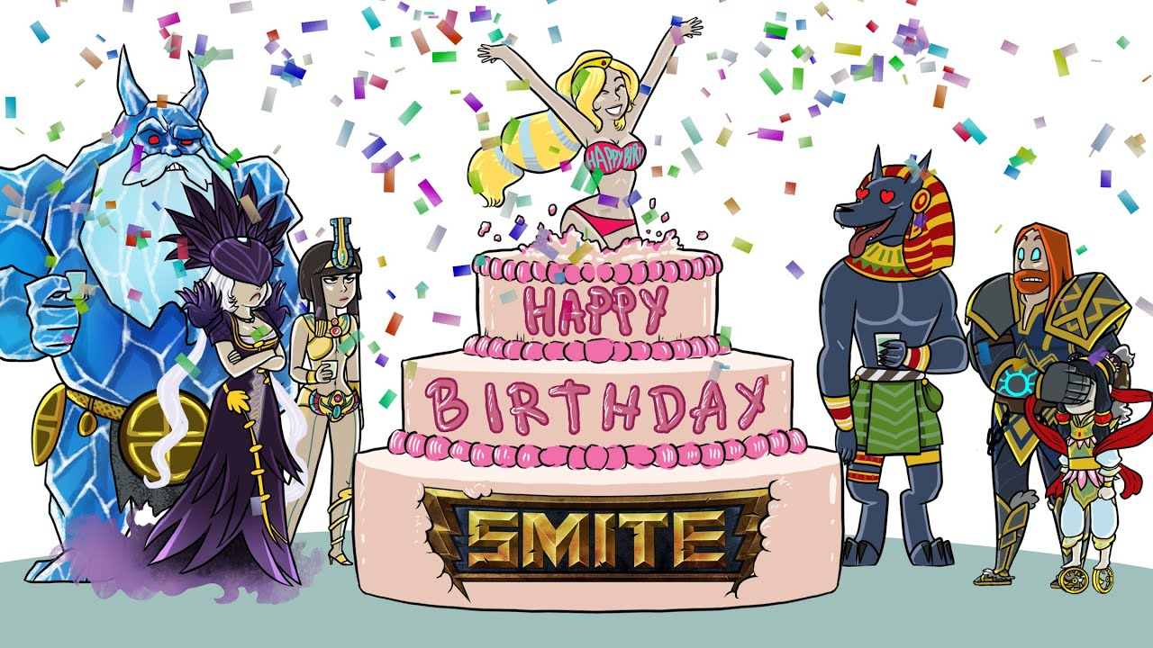 Happy Birthday SMITE Music Video Katy Perry Parody YouTube