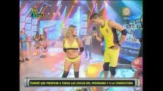 Esto es Guerra: Guty Carrera piropea a las mujeres del programa - 27/02/2013