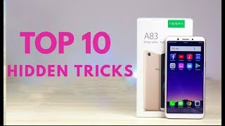 oppo A83 Top 10 Hidden features / Trick & Tips Hindi