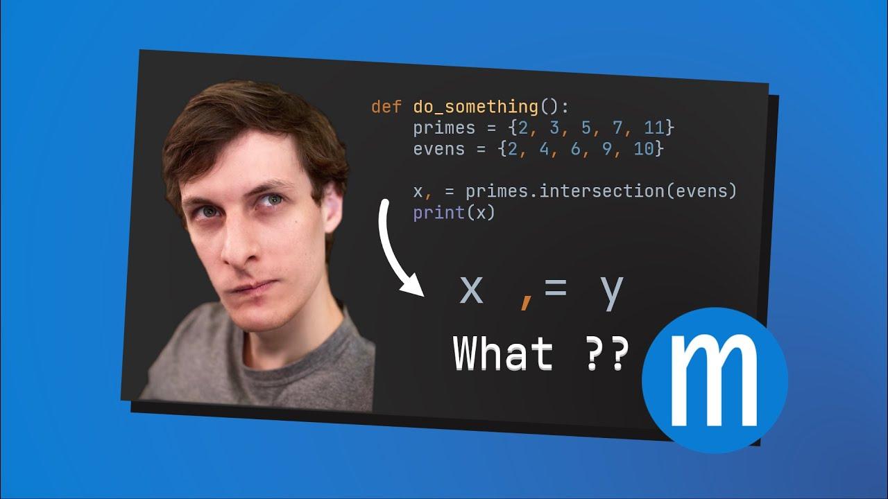 Python Weirdness - The comma equals ,= operator?