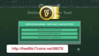 FIFA 17 Hack 9,999,999 Crédits Gratuit / Free Coins Points Cheats FIFA 17 (PS/XBOX/IOS/Android/PC)