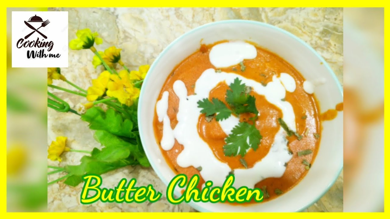 Butter Chicken   Restaurant style   Cooking with Me