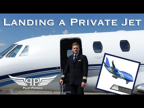 Landing my private jet in London Luton