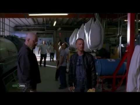 Breaking Bad - Jesse and Walter destroy the lab
