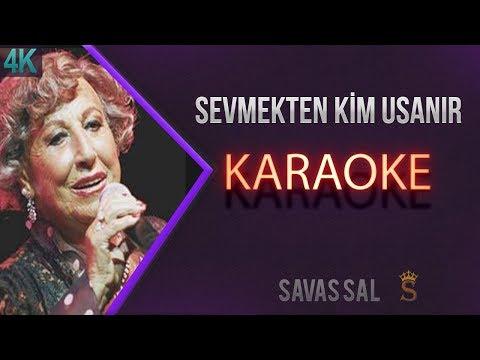 Sevmekten Kim Usanır Karaoke 4k