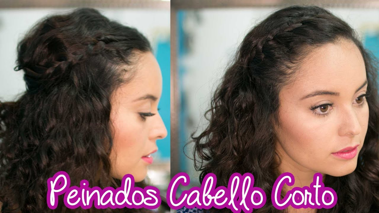 Peinados Para Cabello Corto Chino Fabcuore Youtube