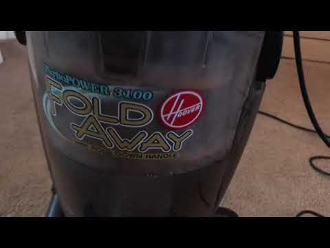 Review and demo 2005 Hoover turbopower 3100 fold away U5178-900
