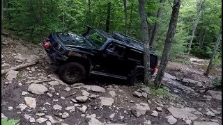 4X4 OVERLAND ADVENTURES - Hummer H3 Off-Road Summer 2017