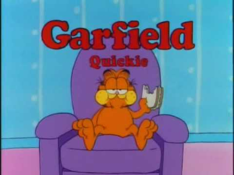 Garfield Quickie Chair Level Youtube