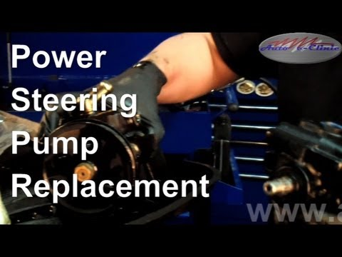 How to Replace a Noisy or Leaking Power Steering Pump ...