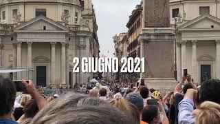 Frecce Tricolori Roma 2 Giugno 2021