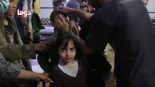 Russia dismisses alleged Syria chemical attack as