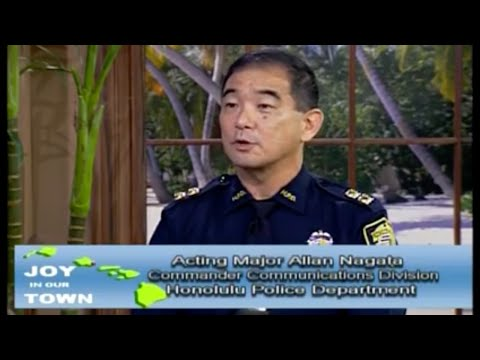 Honolulu Police Talk 9-1-1 and Emergency Response