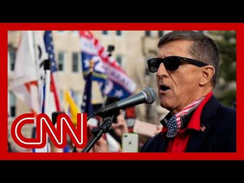 Michael Flynn appears to endorse QAnon coup conspiracy