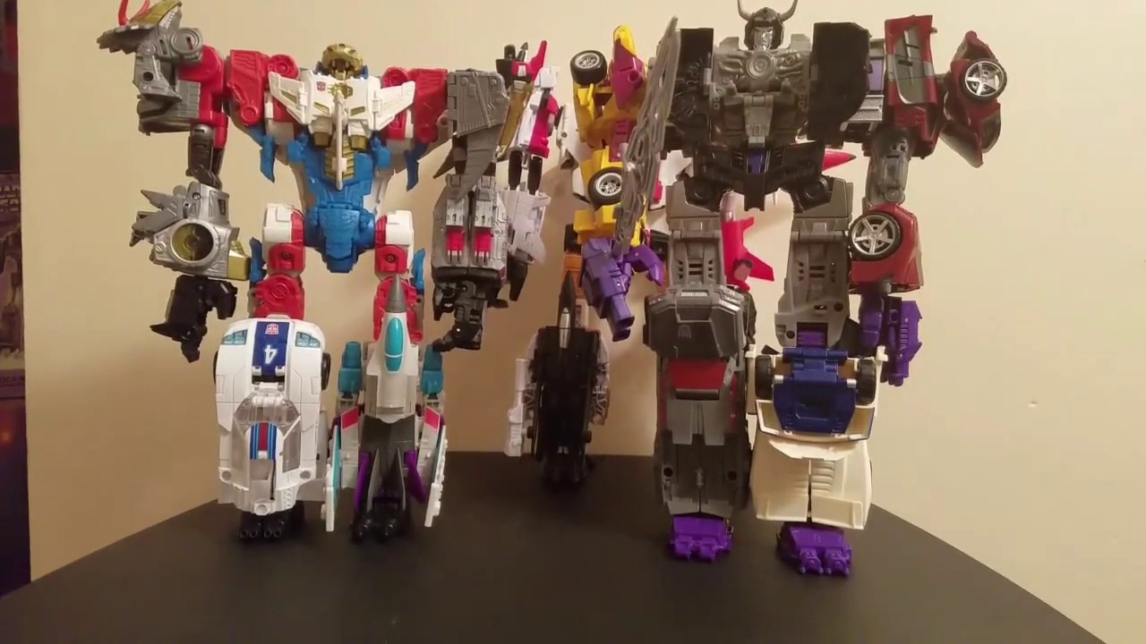 Transformers Combiners Superion Menasor Defensor Skylynx With