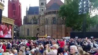 Andre Rieu  Pre Concert in Maastricht 9th July 2015-  Seventy Six Trombones