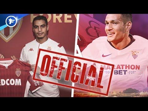 OFFICIEL : L'AS Monaco Achète Ben Yedder Et Vend Rony Lopes Au FC Séville   Revue De Presse