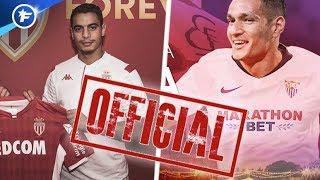 OFFICIEL : l'AS Monaco achète Ben Yedder et vend Rony Lopes au FC Séville | Revue de presse