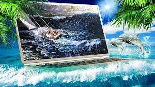 """""""Опасные воды"""". К берегам Майами на всех парусах. [Автопилот не выдержал]"""