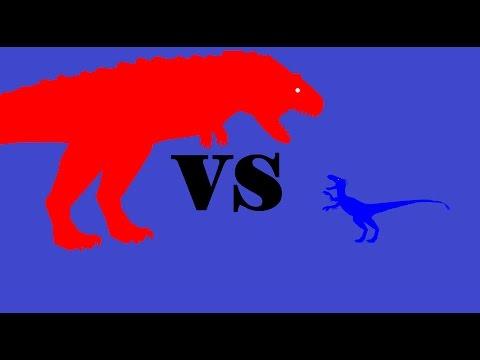 Aucasaurus Vs Bambiraptor