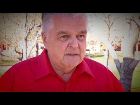 County Commissioner Steve Sisolak speaks about 911 problems