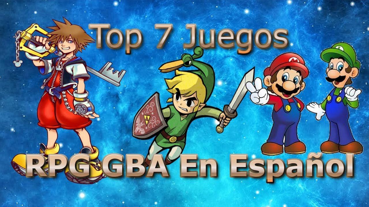 Top 7 Juegos Rpg Gba Espanol My Boy Youtube