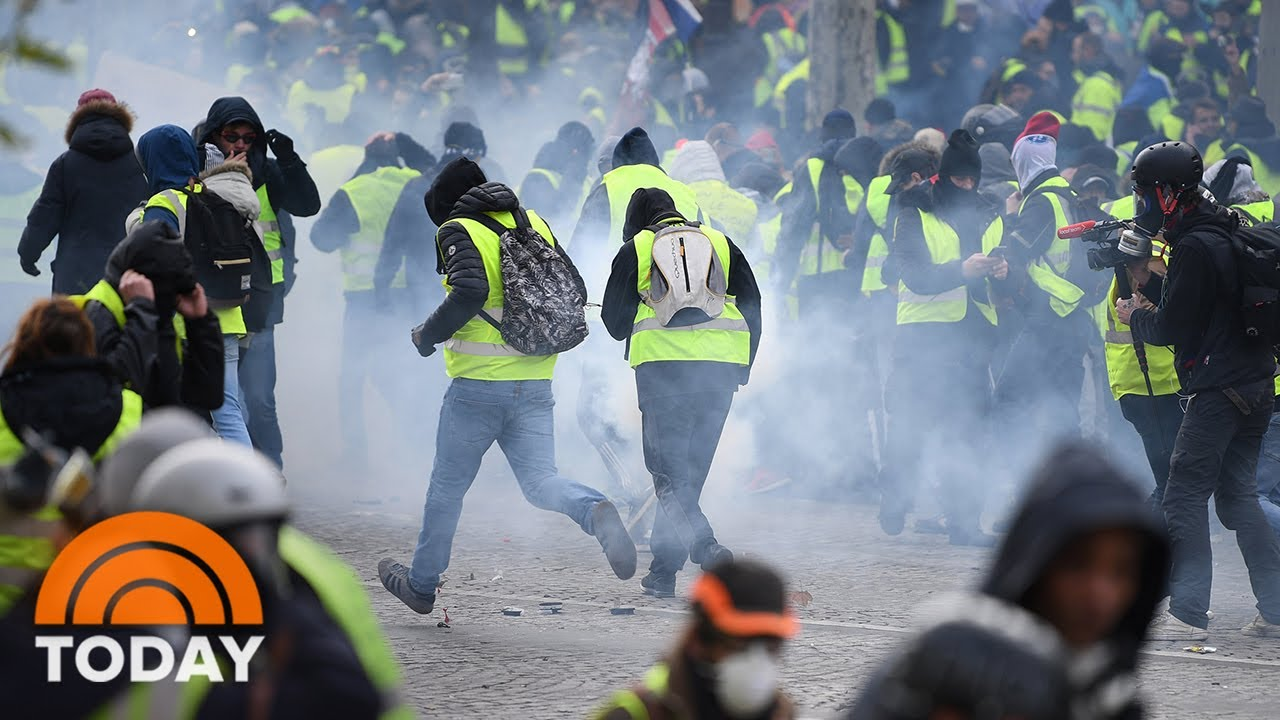Paris Braces For Riots As Protests Sweep France   TODAY