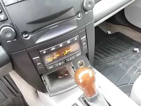 04 Cadillac cts no start key stuck sidestep fix