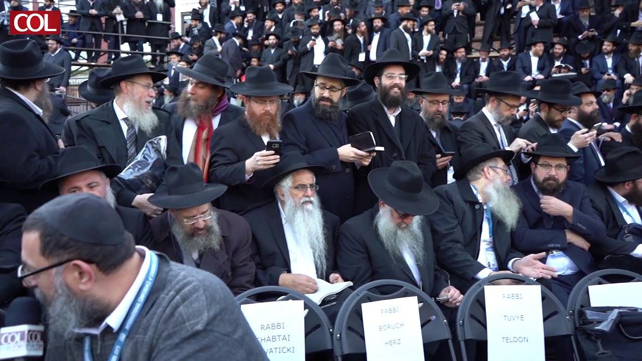 הרב ליברוב מאשקלון בכינוס השלוחים