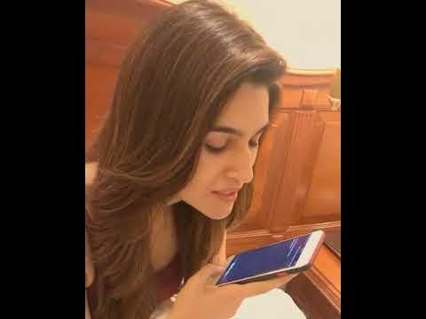 MUST WATCH  iPhone Siri Singing  For Kriti Sanon