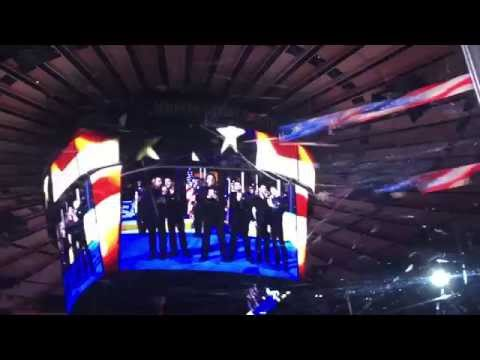 The Star Spangled Banner LIVE @ Madison Square Garden by The Bronx Wanderers