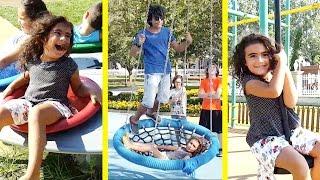 Mira ve Ege Park Eglencesi Vlog UmiKids