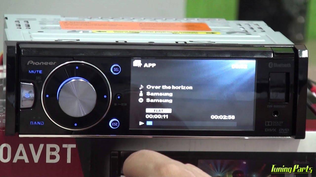 aa387095e34a2 Pioneer DVH-8680AVBT - Como usar o DVD Player - YouTube