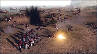 RED COAT BEACH ASSAULT - Born in the Fire: America Mod Gameplay