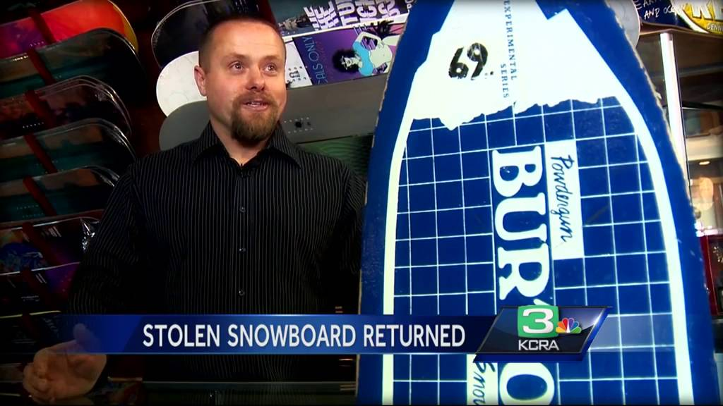 Sonora Man Reunited With Heirloom Snowboard 26 Years Later Youtube
