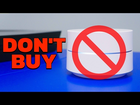 Don't Buy Google Wifi 😡 - YouTube